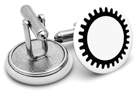 Engineering Cog Cufflinks