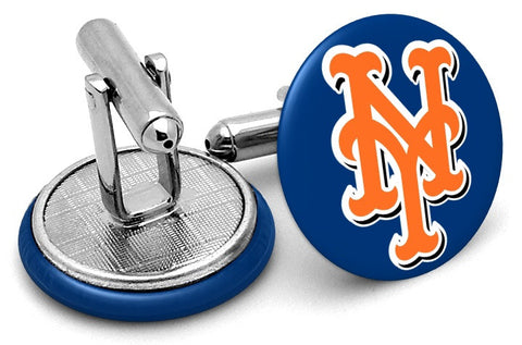 New York Mets Hat Cufflinks
