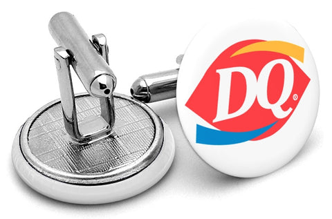 Dairy Queen DQ Logo Cufflinks