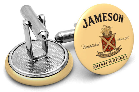 Jameson Irish Whiskey Cufflinks
