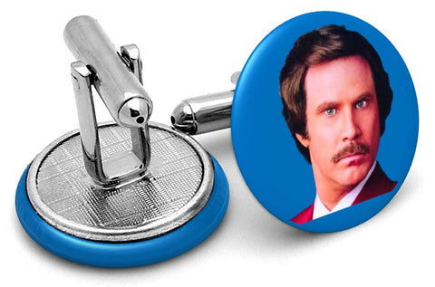Anchorman Ron Burgundy Cufflinks
