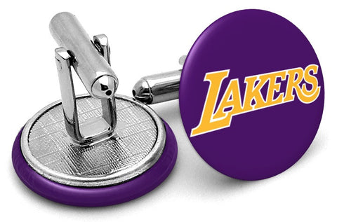 Los Angeles Lakers Alternate Cufflinks