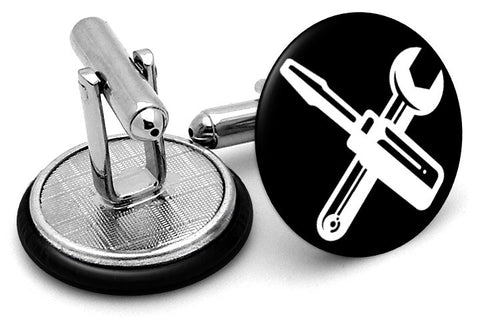 Screwdriver and Wrench Cufflinks