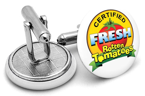 Certified Fresh Rotten Tomatoes Cufflinks