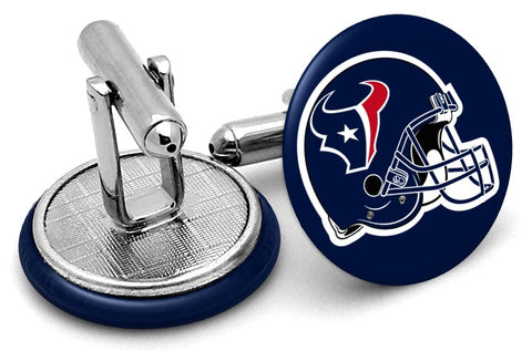 Houston Texans Helmet Cufflinks