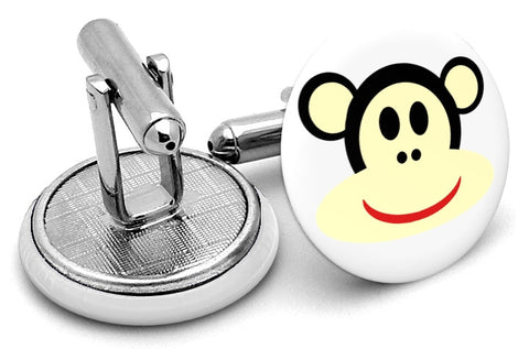 Monkey Smiling Cufflinks