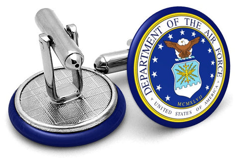 US Air Force Shield Cufflinks