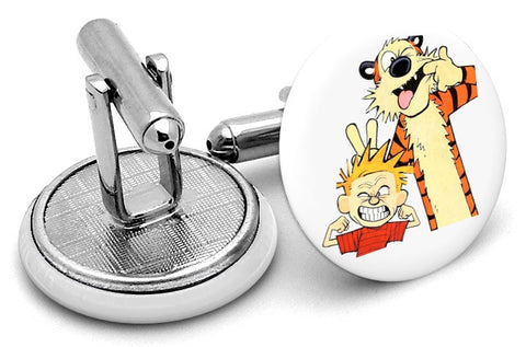 Calvin And Hobbes Cufflinks