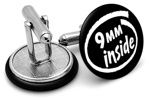 9mm Inside Cufflinks