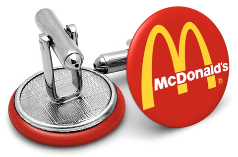 McDonalds Logo Cufflinks