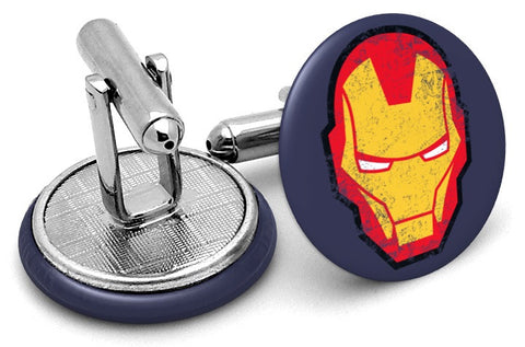Iron Man Face Cufflinks