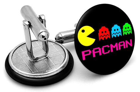 Pacman Characters Cufflinks