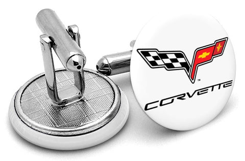 Corvette Logo Cufflinks