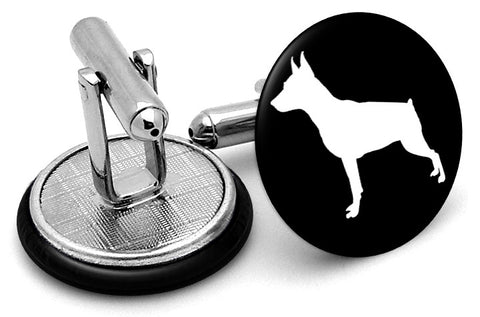 Doberman Dog Cufflinks