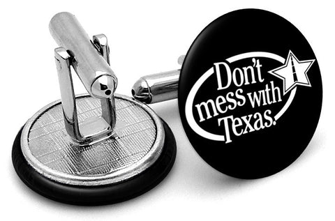 Don't Mess With Texas Cufflinks