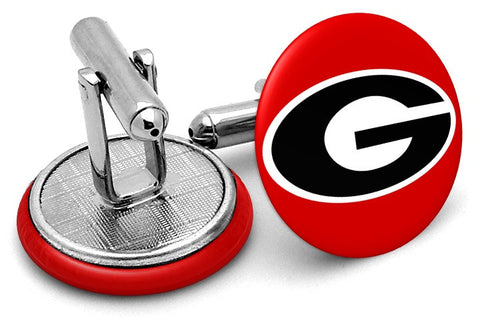 Georgia Bulldogs Alternate Cufflinks