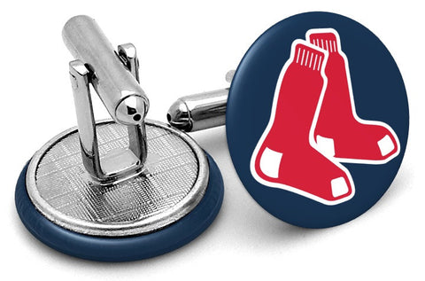 Boston Red Sox Socks Cufflinks