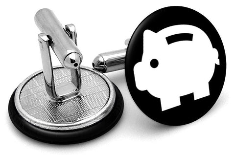 Piggy Bank Cufflinks