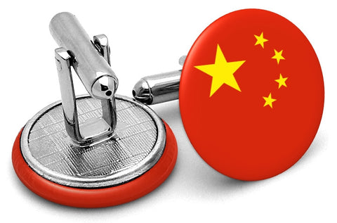 Flag Of China Cufflinks