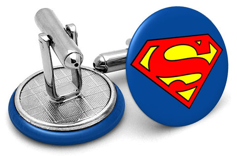 Superman Logo Cufflinks