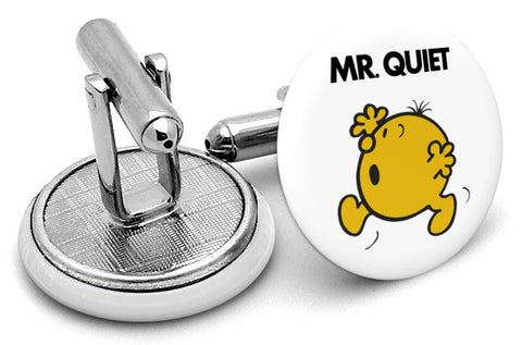 Mr Quiet Cufflinks