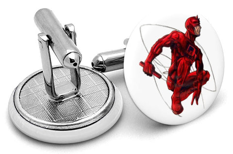 Daredevil Comic Cufflinks