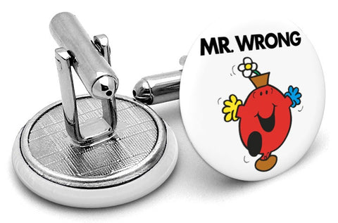 Mr Wrong Cufflinks
