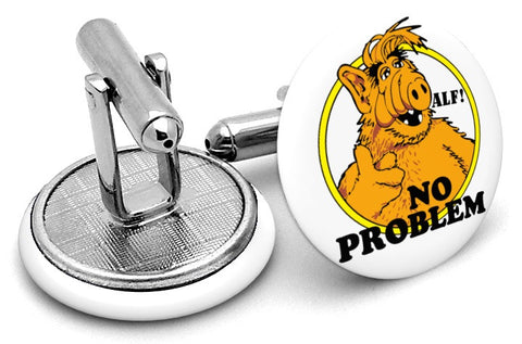 Alf No Problem Cufflinks