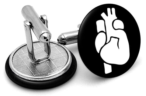 Heart Image Cufflinks