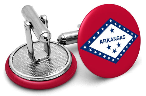 State Flag Arkansas Cufflinks