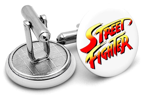 Street Fighter Original Cufflinks