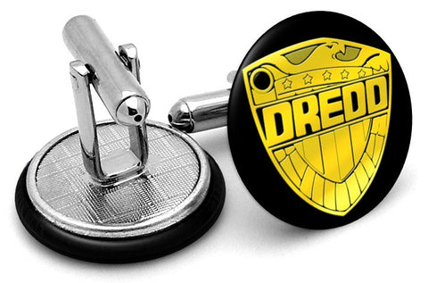 Judge Dredd Shield Cufflinks