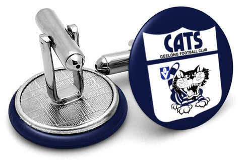 Geelong Cats 80s Cufflinks
