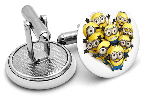 Despicable Me Minions Cufflinks