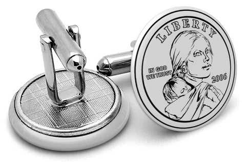 USD Dollar Back Cufflinks