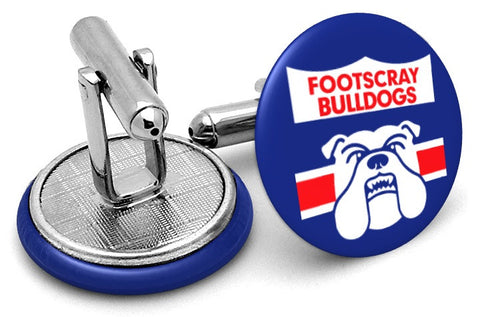 Footscray Bulldogs 80s Cufflinks