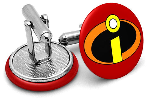 The Incredibles Logo Cufflinks