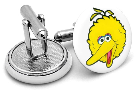 Big Bird Sesame Street Cufflinks