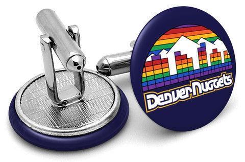 Denver Nuggets Vintage Cufflinks
