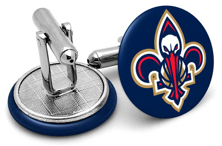 New Orleans Pelicans Alternate Cufflinks By Frenchcuffed