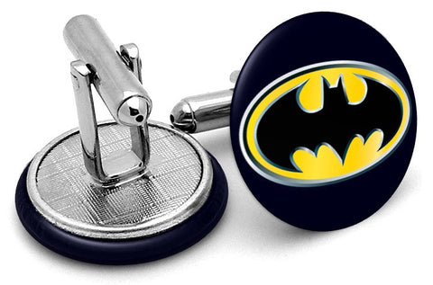 Batman Navy Logo Cufflinks