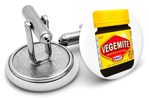 Vegemite Bottle Cufflinks