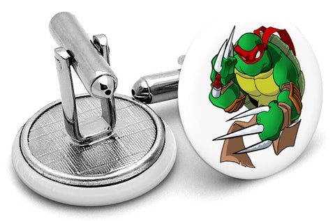 Ninja Turtles Raphael Cufflinks