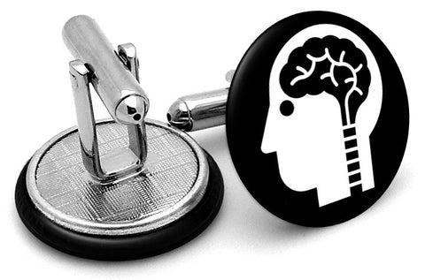 Brain Genius Cufflinks