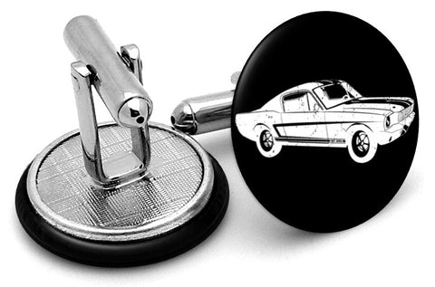 Ford Mustang Image Cufflinks