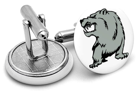 Grizzley Bear Angry Cufflinks
