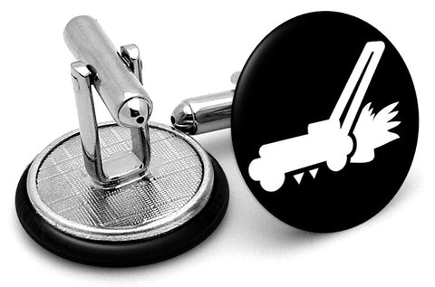 Lawn Mower Cufflinks