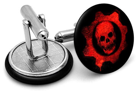 Gears of War Red Cufflinks