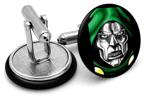Doctor Doom Portrait Cufflinks