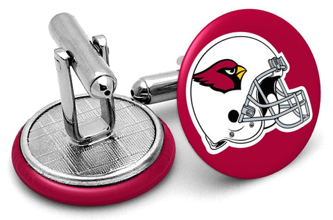 Arizona Cardinals Helmet Cufflinks